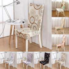 online get cheap embroidered chair covers aliexpress com ishowtidenda universal dining room wedding banquet chair cover slip cover stretch spandex retro style china