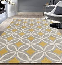 Yellow And Gray Kitchen Rugs Amazon Com Safavieh Porcello Collection Prl7735c Light Grey And
