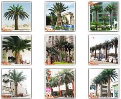 china factory miniature plastic palm tree low price for artificial