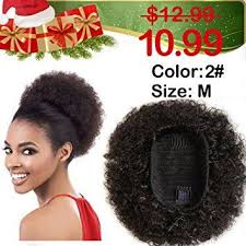 short ponytails for short african american hair curly ponytail afro pom pom hair drawstring ponytail african