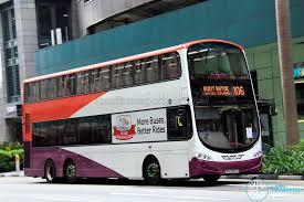 volvo transport tower transit volvo b9tl wright sbs3357c service 106 skipping