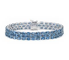 blue topaz bracelet gold images Blue nile petite swiss blue topaz oval bracelet in sterling silver