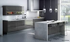 deco cuisine gris et blanc emejing cuisine gris et blanc deco gallery seiunkel us newsindo co