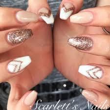 the 25 best gold acrylic nails ideas on pinterest classy