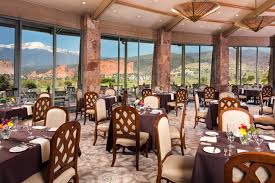 Grand Dining Room Grand View Dining Room Garden Of The Gods Collection