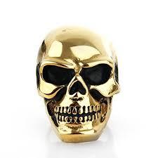 gold skull rings images Gold skull ring jpg