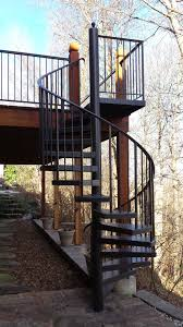 aluminum spiral staircase sd metalworks