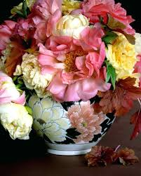 Wildflower Arrangements Peonies Flower Arrangements Peony Flower Bloom Photos From