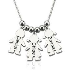 Name Charms For Necklaces Personalized Mother U0027s Jewelry