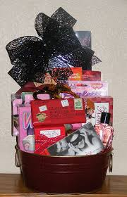 Valentines Day Gift Baskets Naughty And Nice Valentines Day Gift Basket