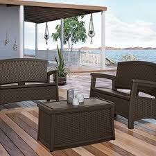 Deck Coffee Table - amazon com suncast elements coffee table with storage java
