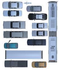 Floor Plan Furniture 2d Cars Vehicules Furniture Floorplan Top View Psd 3d Model 3d Model