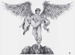 the 25 best male angel tattoo ideas on pinterest chest tattoo