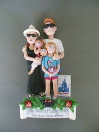 family ornament custom created this is a non refundable deposit