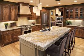 granite kitchen island craftsman kitchen with kitchen island with seating complex