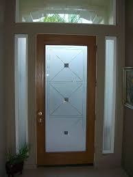Interior Wood Doors With Frosted Glass Etched Glass Entry Door Windows Frosted Front Doors Pinterest