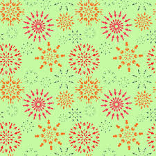christmas pattern red green christmas seamless pattern red orange gray snowflakes on light