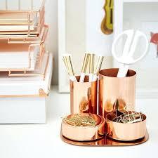 Magnetic Desk Organizer Gold Desk Copper Magnetic Desk Organizer Gold Desktop
