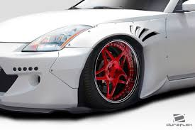nissan 350z rear bumper duraflex z33 rbs kit 9 pc for 350z nissan 03 08 ed 113658 ebay