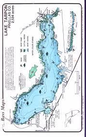 St Cloud Florida Map by Lake Tarpon Maps