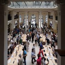 Apple Store Paris Apple Store Opera Paris Architecture Photos Pouhou