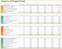Travel Budget Template Excel 6 Excel Project Template Ganttchart Template