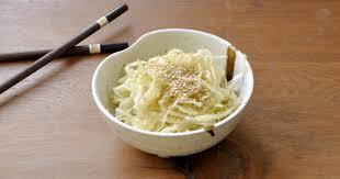 comment cuisiner un chou blanc comment faire une salade de chou blanc comme au resto japonais 8