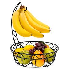 metal fruit basket bestchoiceproducts rakuten best choice products kitchen