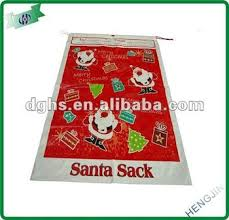 jumbo santa sack plastic chrismas drawstring gift bag buy