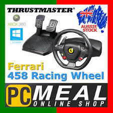 458 italia wheel for xbox 360 thrustmaster 458 italia racing wheel pc xbox 360 gaming
