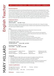 teaching resume examples 2012 highly qualified math teacher sample