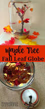 maple tree fall leaf snow globe craft for kids how to make a