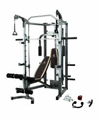 health and fitness den marcy sm 4008 combo smith machine home gym