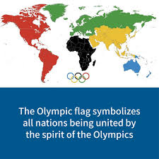 meaning of the olympics all being united by the spirit of the