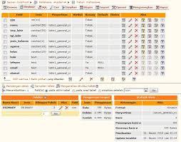 membuat database akademik dengan mysql input data ke dalam database mysql elearning center point