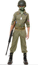 Air Force Halloween Costumes 100 Cotton Military Uniform Costumes Boys Ebay