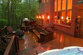 garden torch lights home outdoor decoration