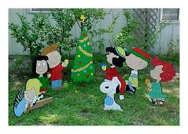 Snoopy Outdoor Christmas Decorations Peanuts Characters Christmas Yard Decorations Rainforest Islands