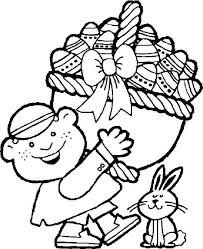 free printable easter bunny coloring sheets kids 15674 clip
