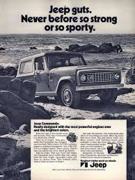 1971 jeep commando these u002770s car ads define a nation desperately trying to enjoy