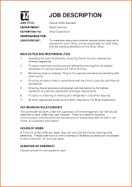 Warehouse Job Duties For Resume by Sales Assistant Job Description Resume Free Resume Example And