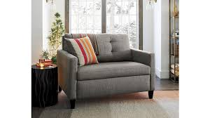 Sofas Sleepers Karnes Sleeper Sofa Chair In Sleeper Sofas Reviews Crate