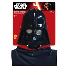 darth vader halloween costume star wars darth vader child cape and mask set