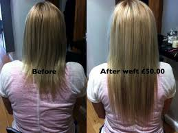 micro weft extensions micro weft hair extensions before and after on and