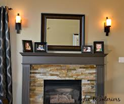 How High To Hang Pictures The Right Height To Hang Wall Sconces Beside A Fireplace Learn