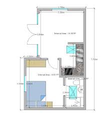 Granny Flat Floor Plans 1 Bedroom Granny Annexe Floor Plan With A Double Bedroom Ensuite Bathroom