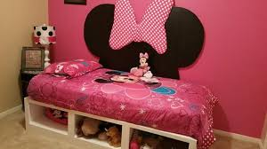 Minnie Mouse Bed Frame Ana White Minnie Mouse Storage Daybed Diy Projects