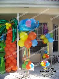 Balloon Centerpieces For Tables Party Decorations Miami Kids Party Decorations L The Lorax