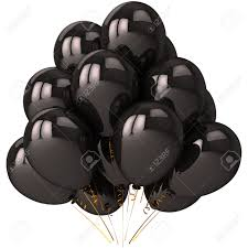 black balloons black balloons with strong reflections beautiful darkness