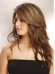 layered haircuts with highlights blonde highlights and long